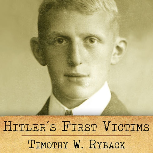 Printable Hitler's First Victims: The Quest for Justice Audiobook Cover Art