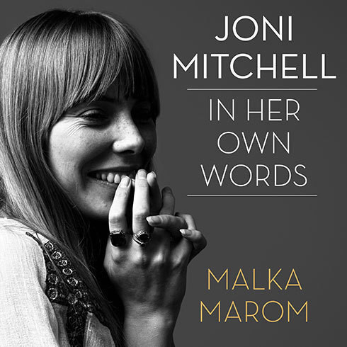 Printable Joni Mitchell: In Her Own Words Audiobook Cover Art