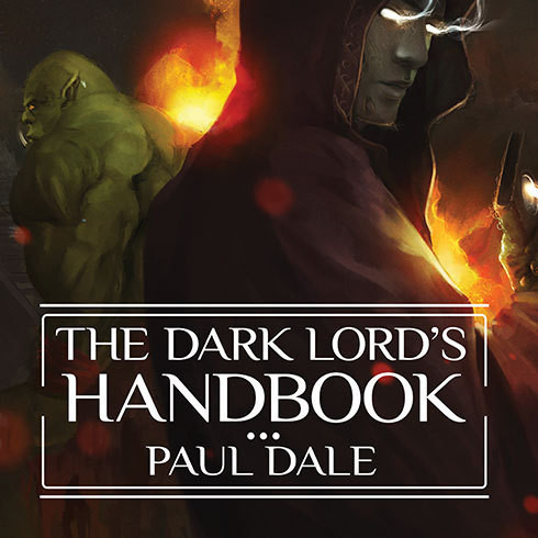 Printable The Dark Lord's Handbook Audiobook Cover Art