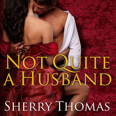 Printable Not Quite a Husband Audiobook Cover Art