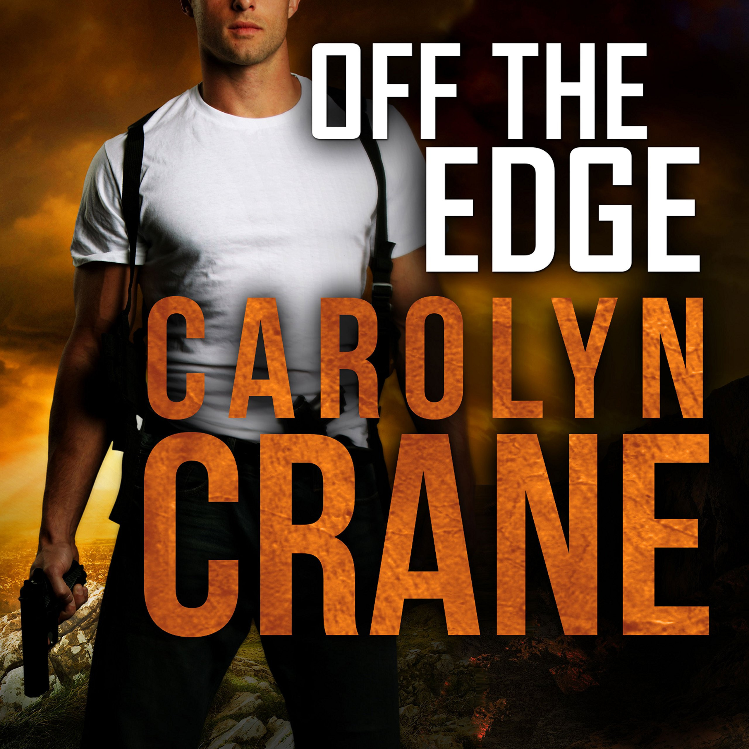 Printable Off the Edge Audiobook Cover Art