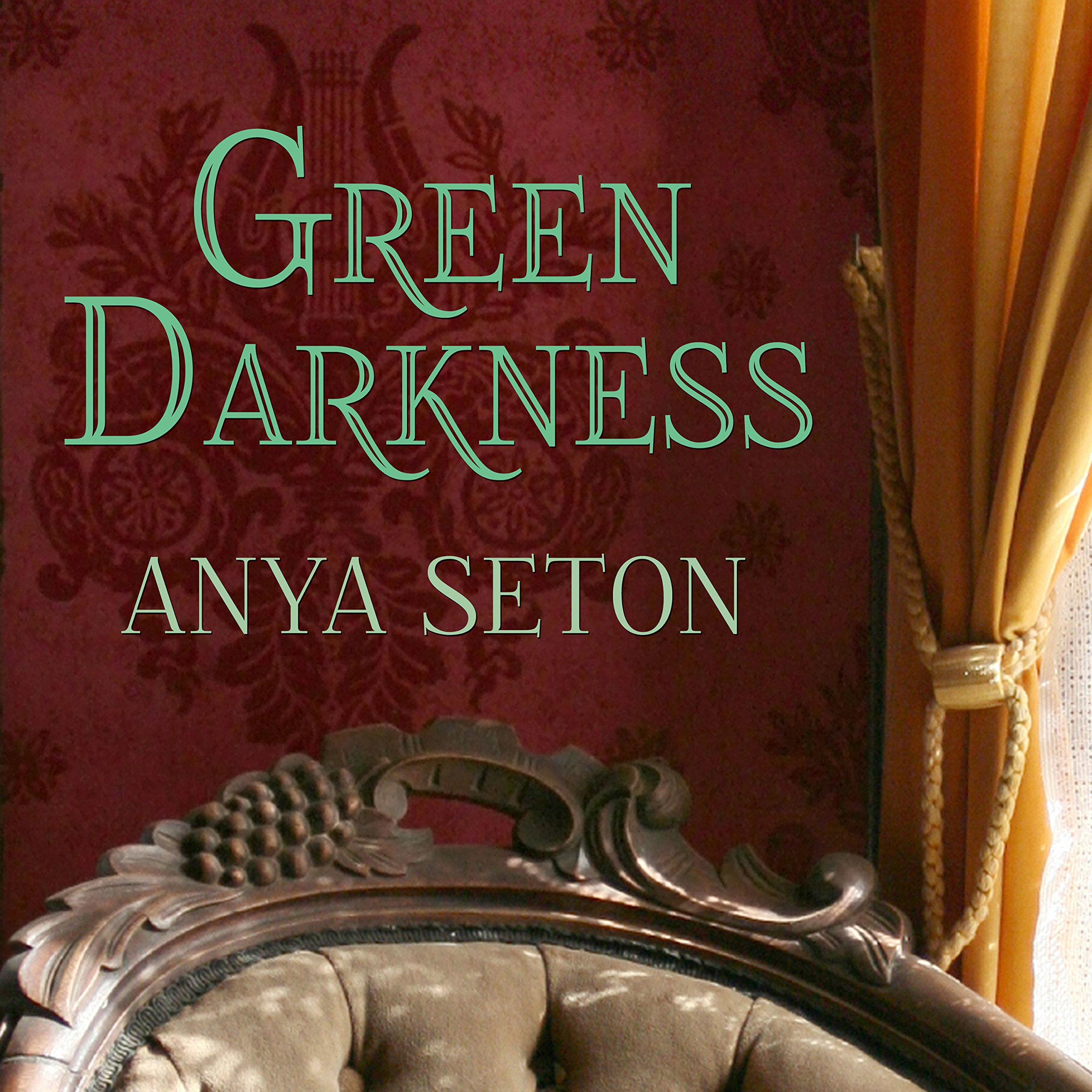 Printable Green Darkness Audiobook Cover Art