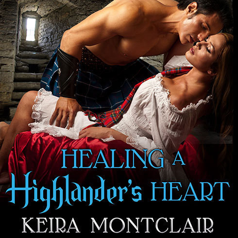 Printable Healing a Highlander's Heart Audiobook Cover Art