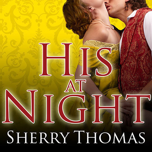 Printable His at Night Audiobook Cover Art