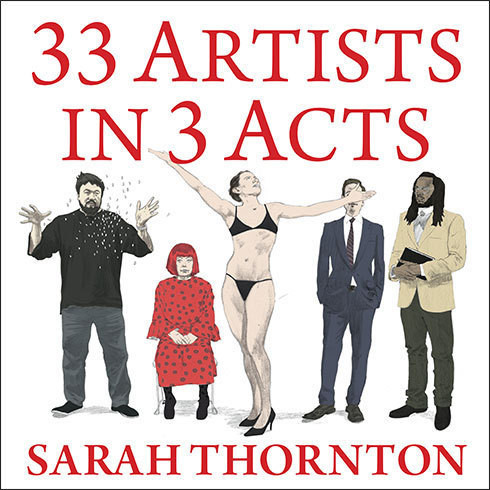 Printable 33 Artists in 3 Acts Audiobook Cover Art