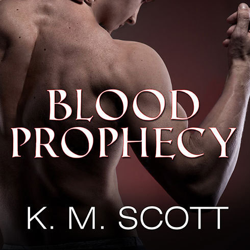 Printable Blood Prophecy Audiobook Cover Art