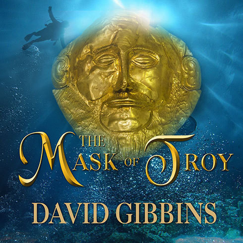 Printable The Mask of Troy Audiobook Cover Art