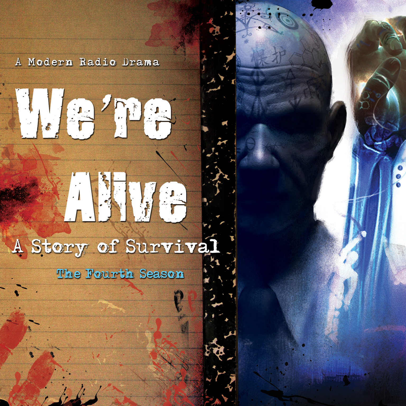 Printable We're Alive: A Story of Survival, the Fourth Season Audiobook Cover Art