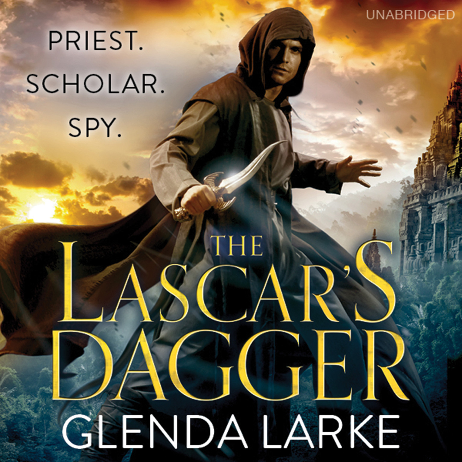 Printable The Lascar's Dagger Audiobook Cover Art