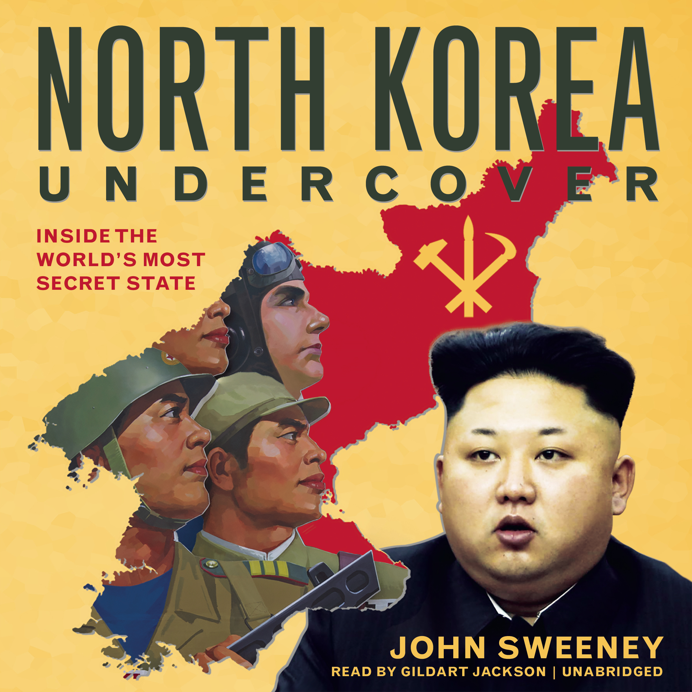 Printable North Korea Undercover: Inside the World's Most Secret State Audiobook Cover Art