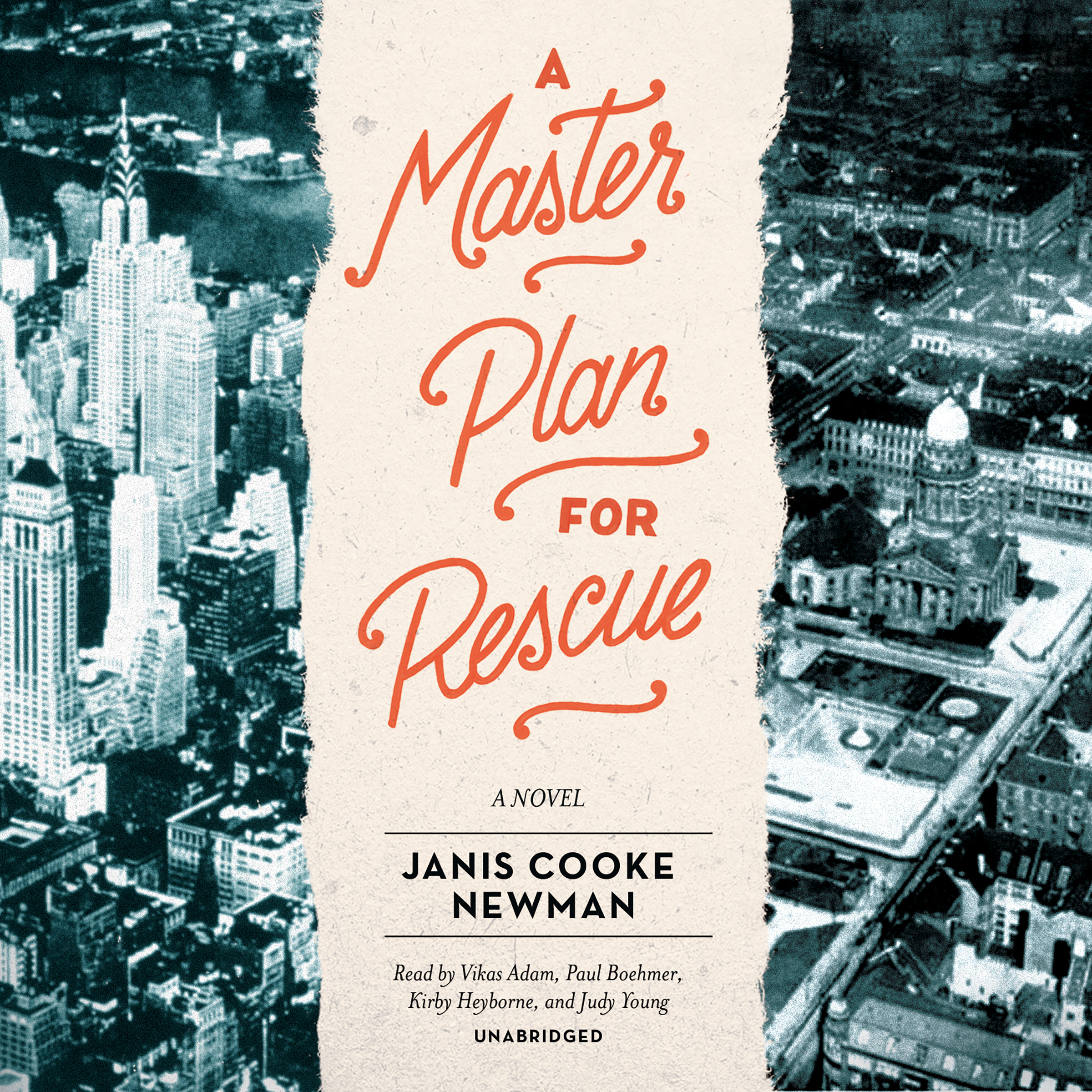 Printable A Master Plan for Rescue Audiobook Cover Art