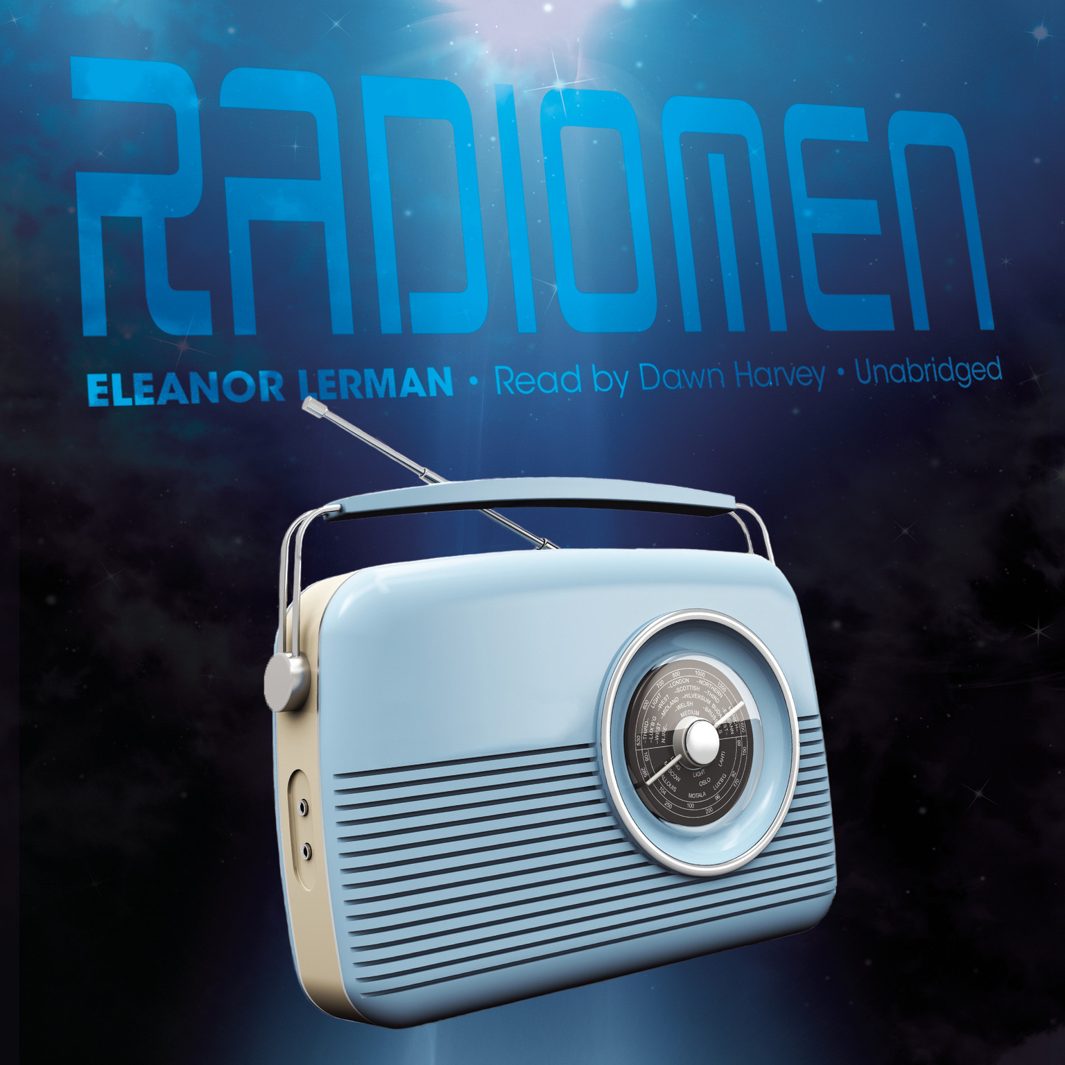 Printable Radiomen Audiobook Cover Art