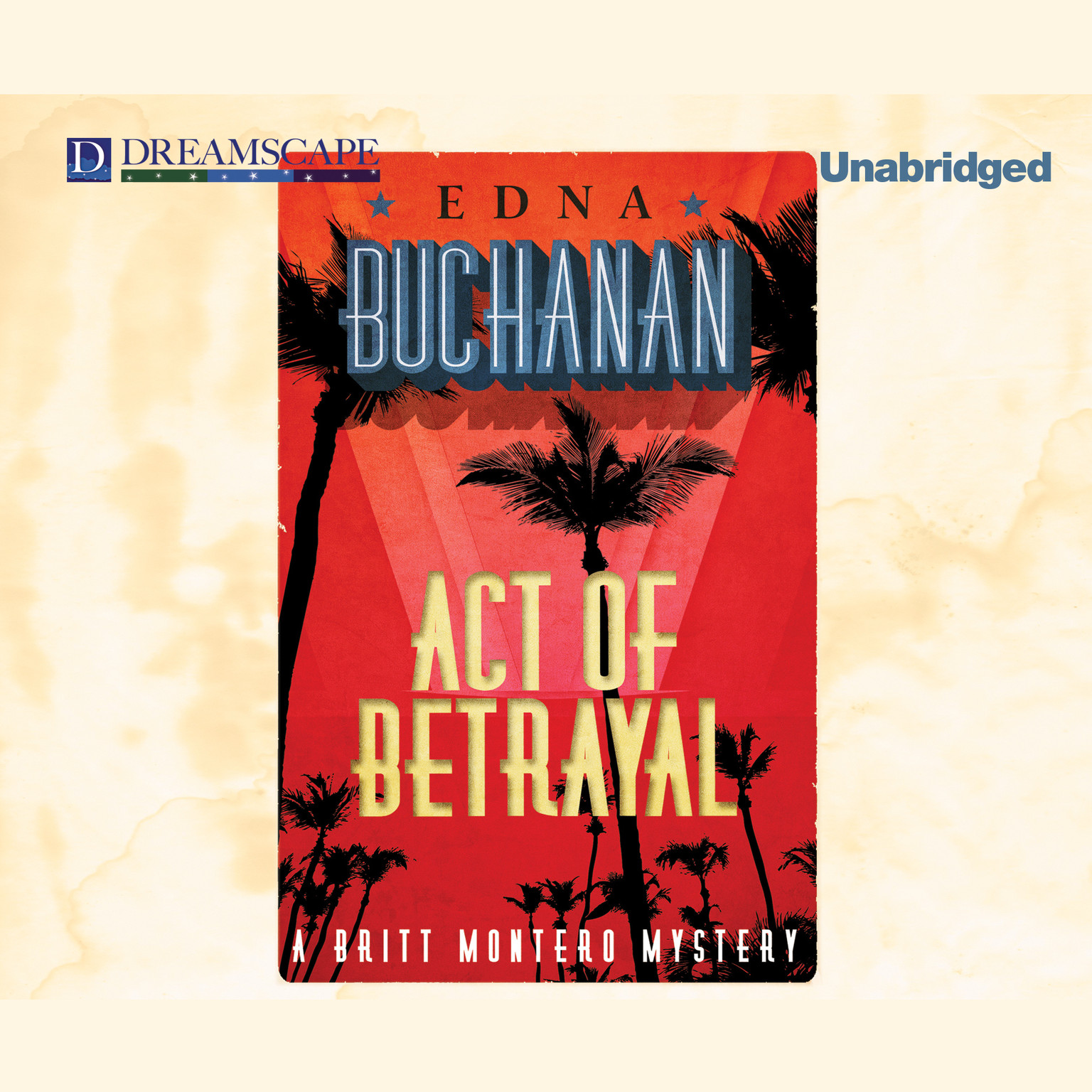 Printable Act of Betrayal Audiobook Cover Art