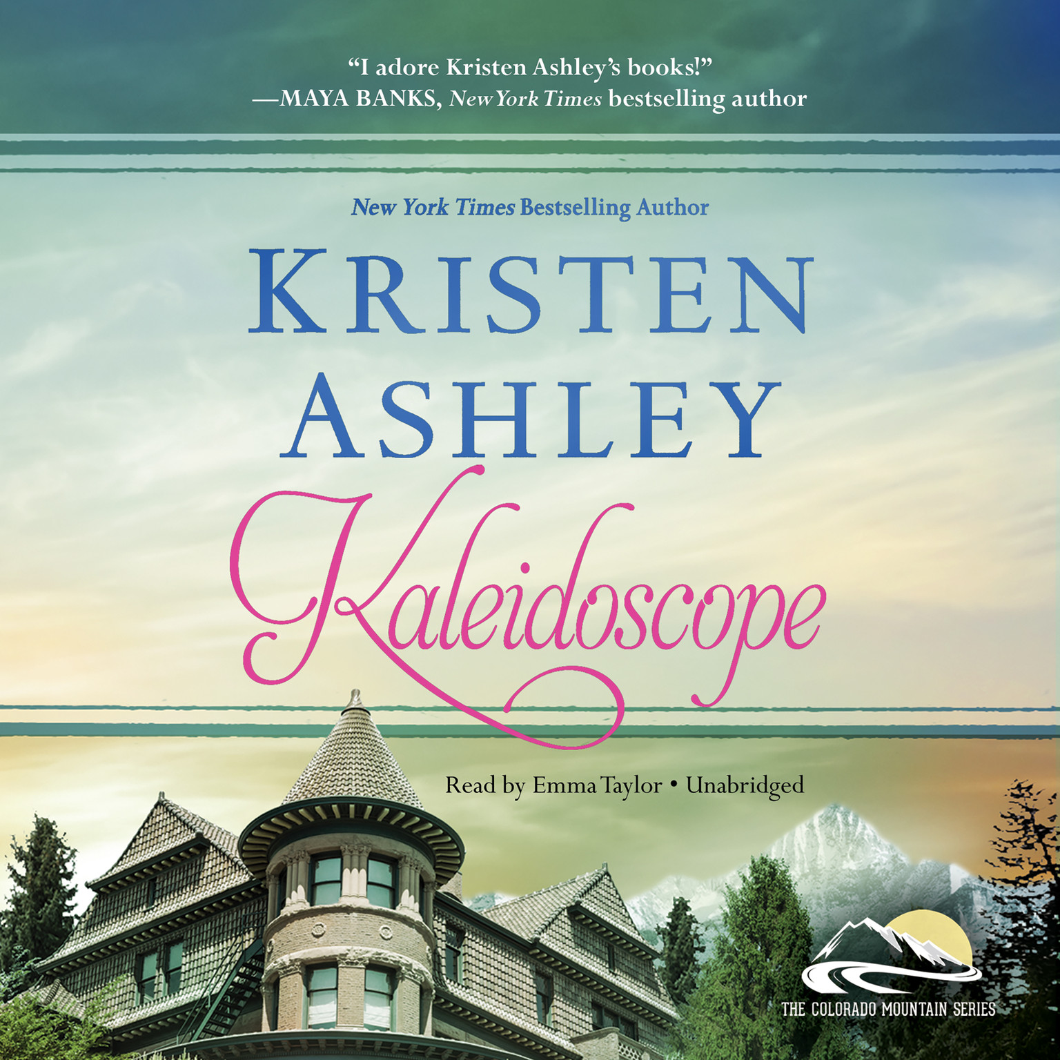 Printable Kaleidoscope Audiobook Cover Art