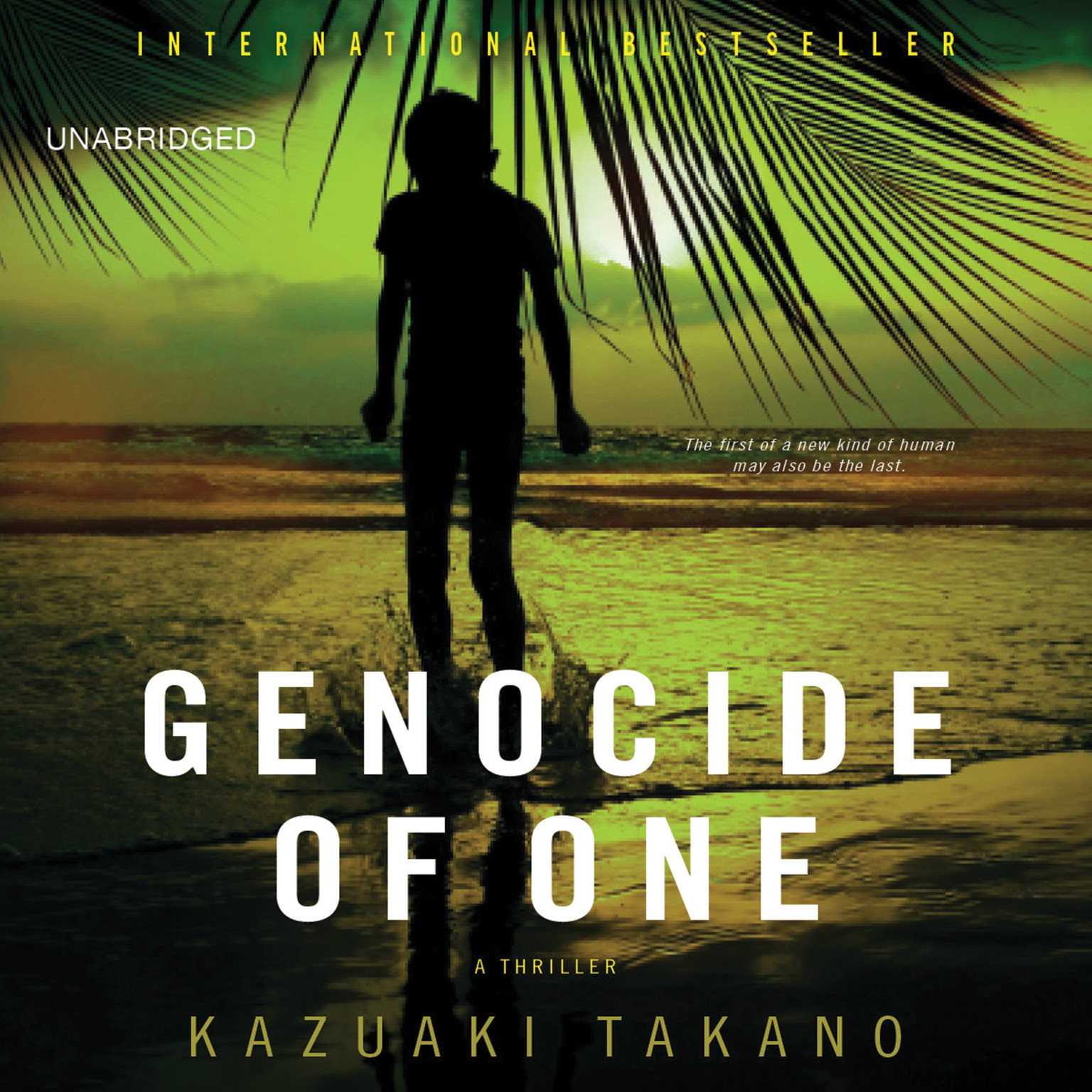 Printable Genocide of One: A Thriller Audiobook Cover Art