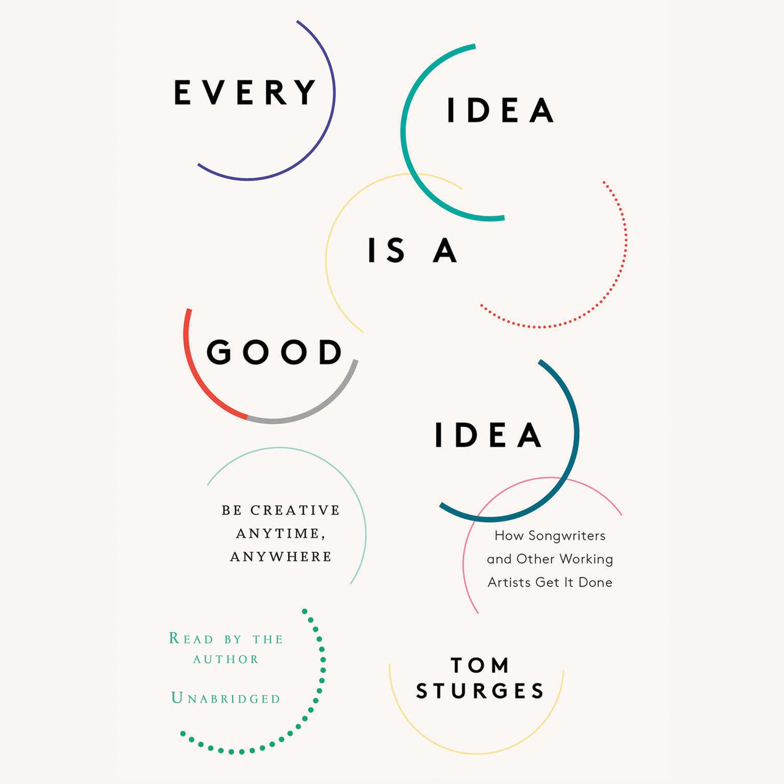 Printable Every Idea Is a Good Idea: Be Creative Anytime, Anywhere Audiobook Cover Art