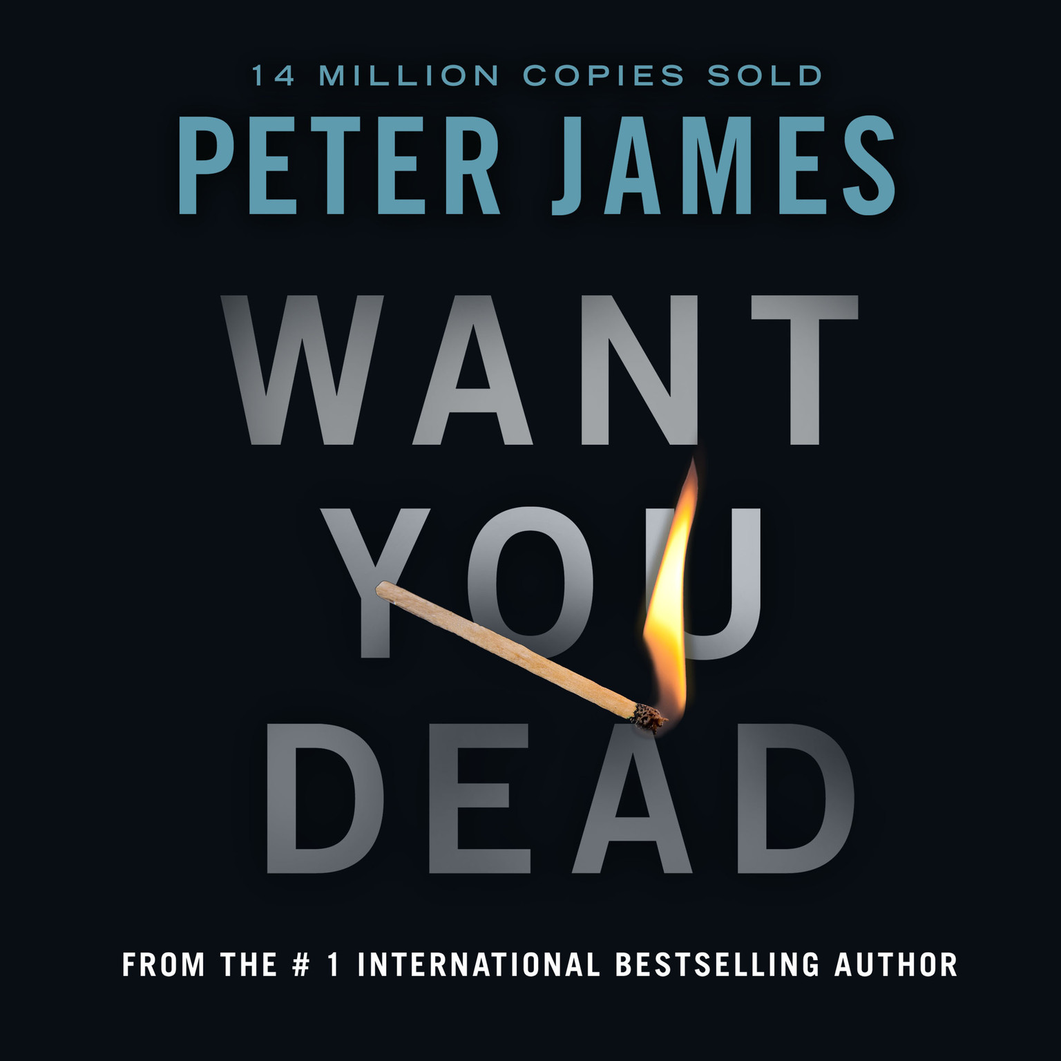 Printable Want You Dead Audiobook Cover Art