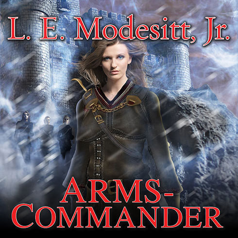 Printable Arms-Commander Audiobook Cover Art