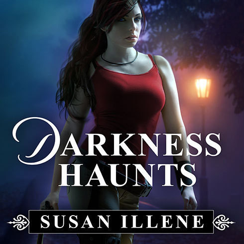Printable Darkness Haunts Audiobook Cover Art