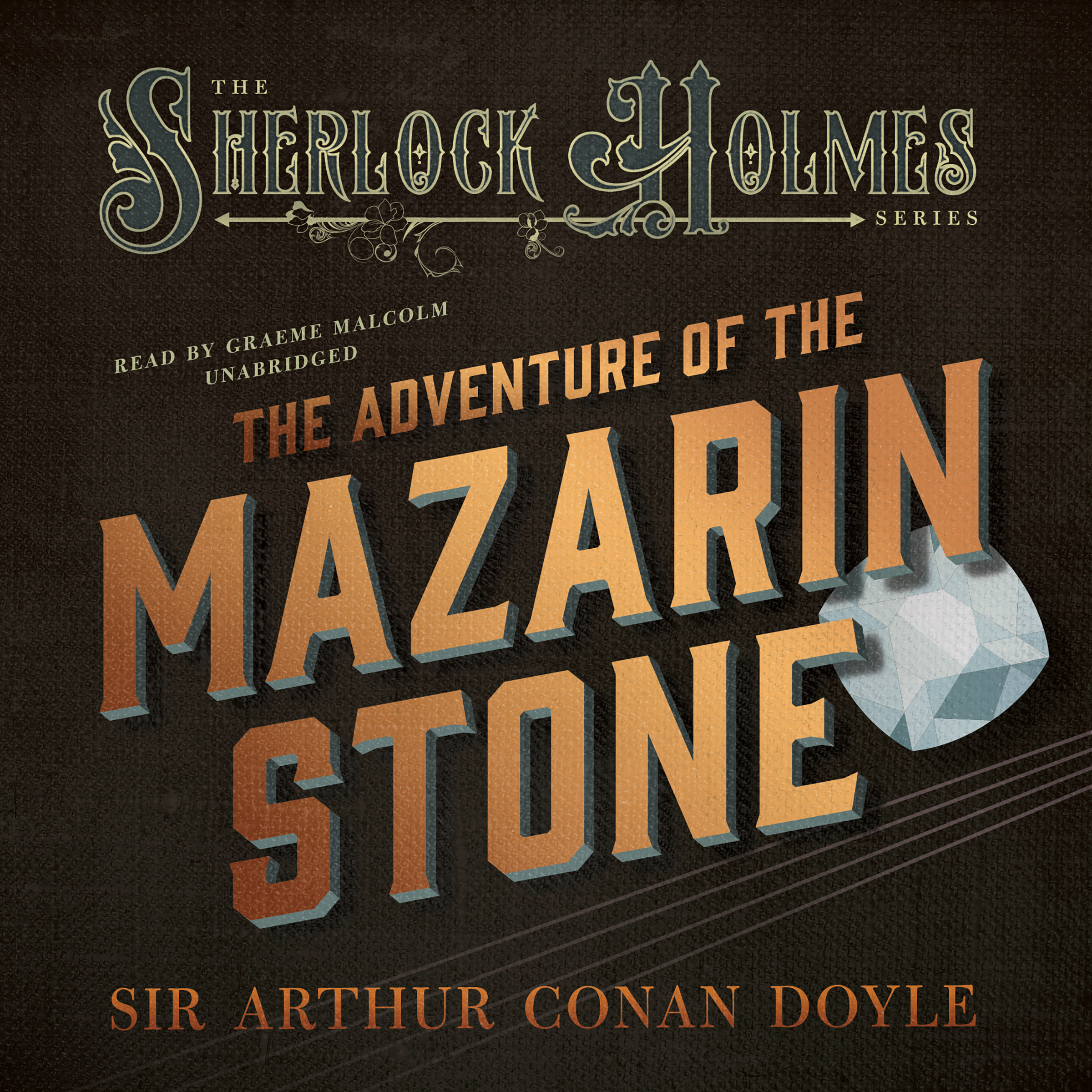 Printable The Adventure of the Mazarin Stone Audiobook Cover Art