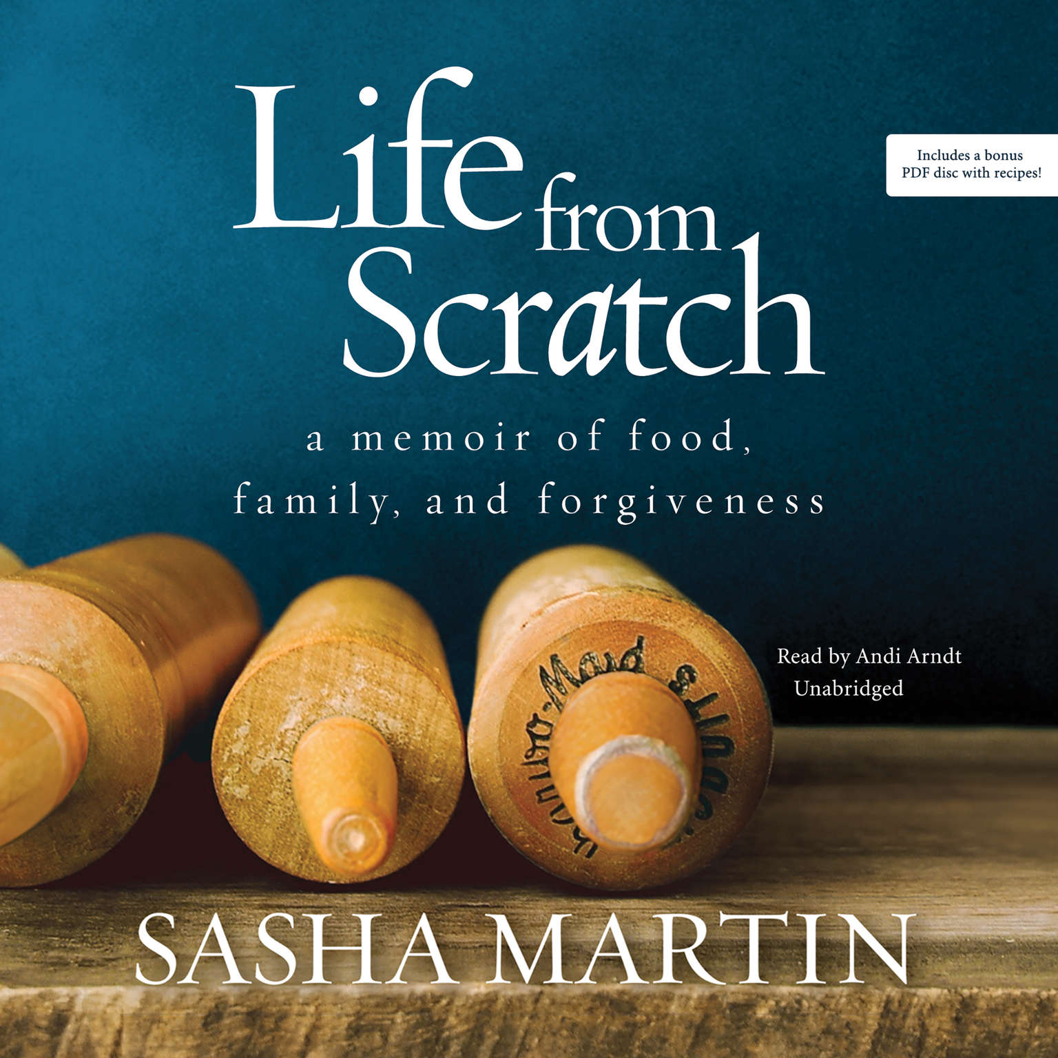 Printable Life from Scratch: A Memoir of Food, Family, and Forgiveness Audiobook Cover Art