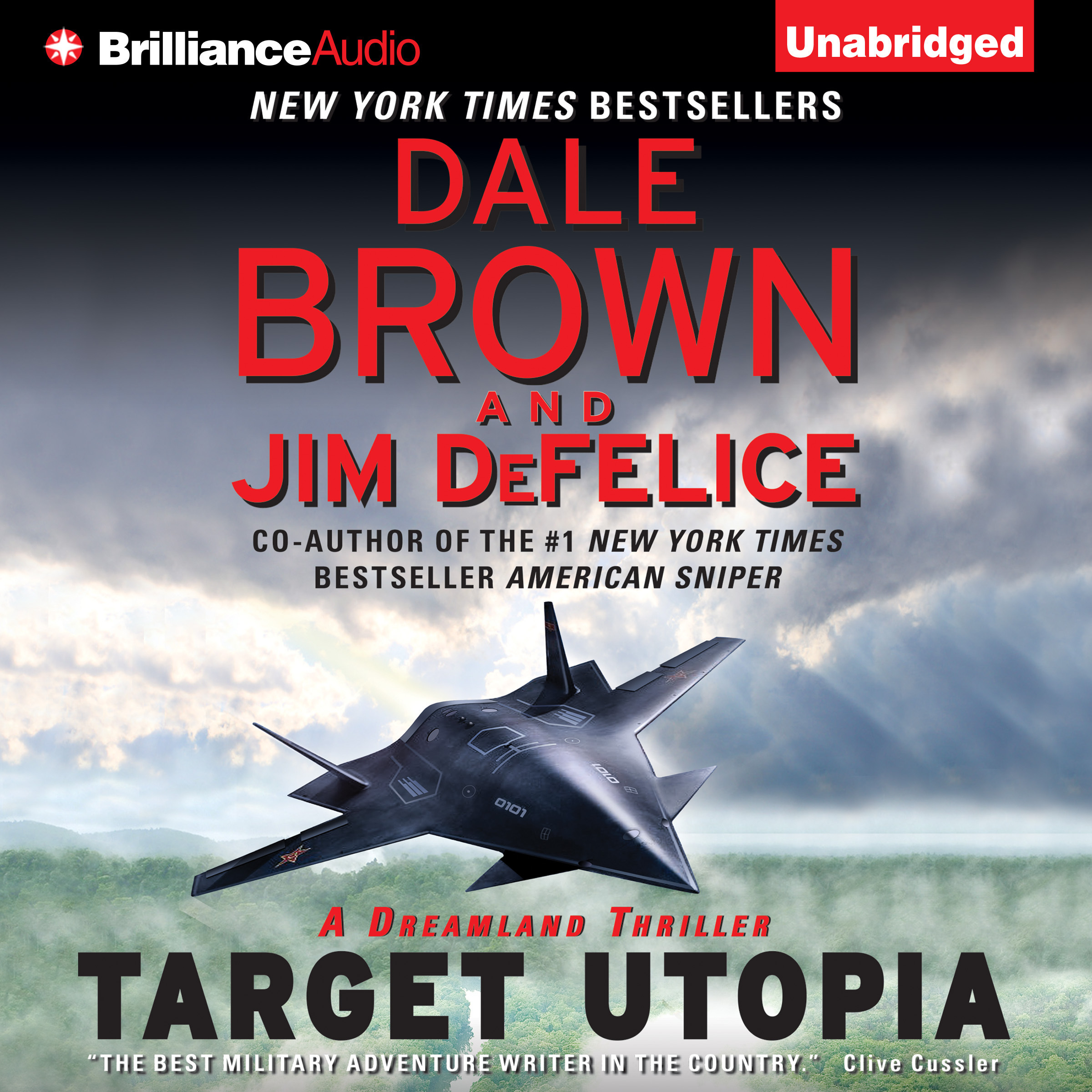 Printable Target Utopia: A Dreamland Thriller Audiobook Cover Art