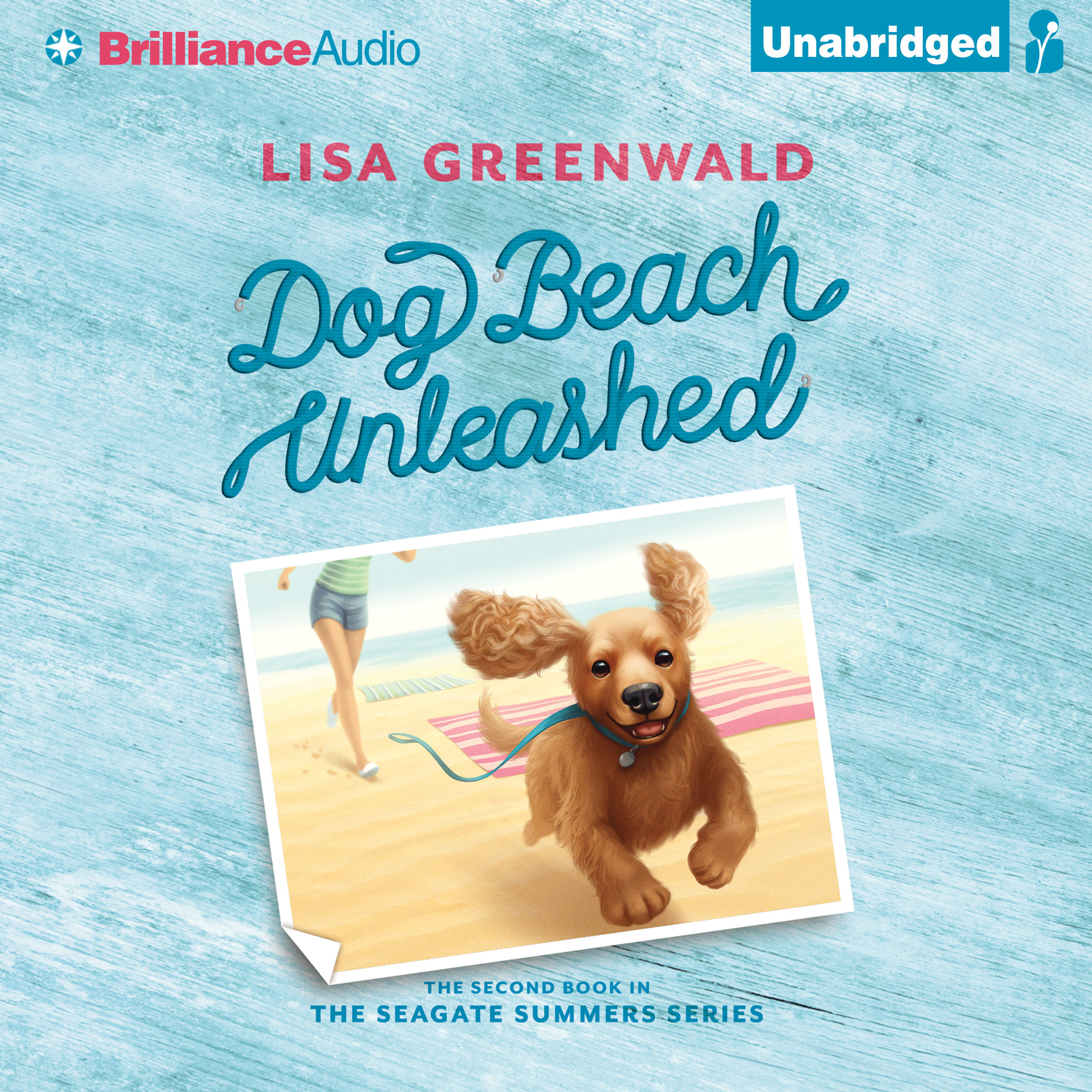 Printable Dog Beach Unleashed Audiobook Cover Art