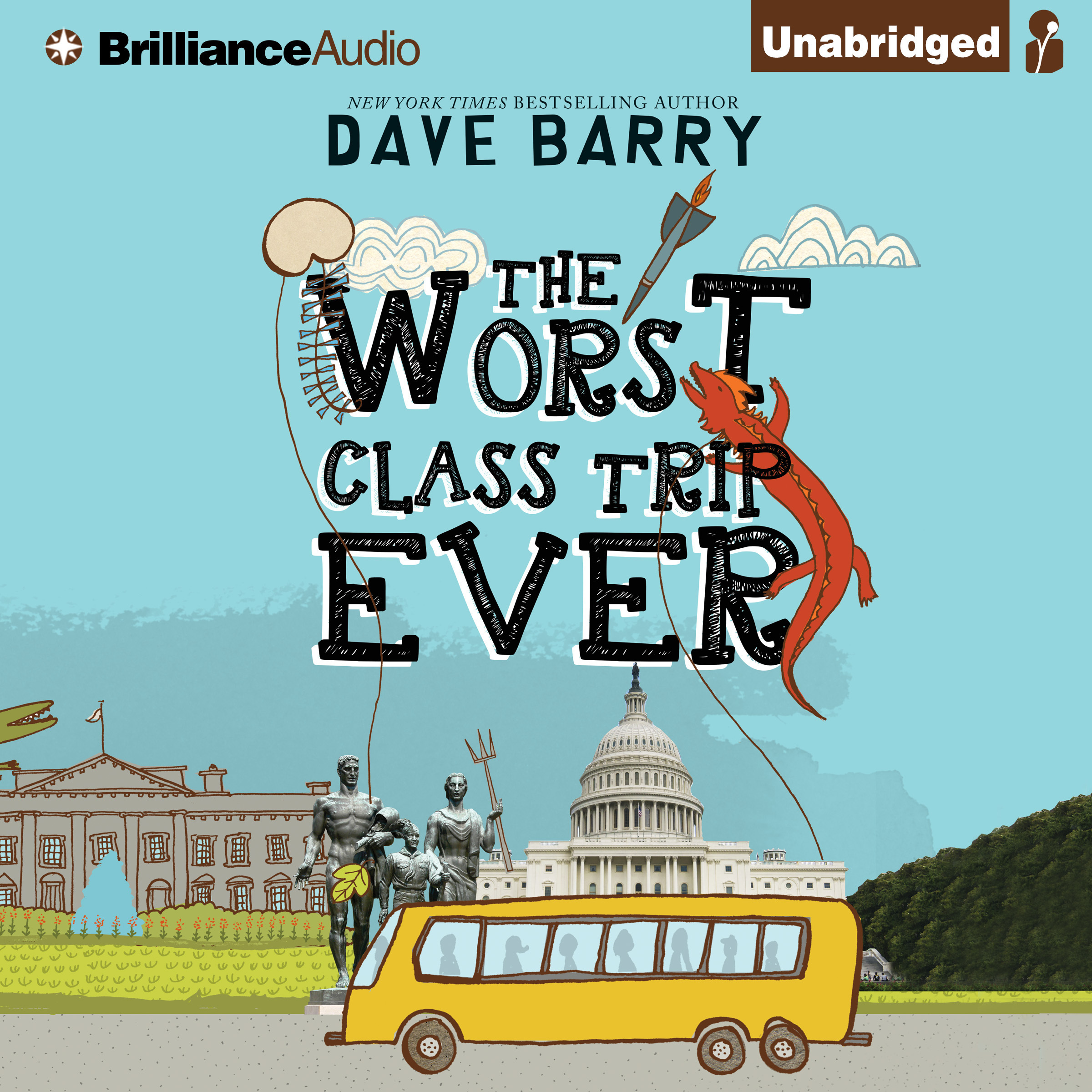 Printable The Worst Class Trip Ever Audiobook Cover Art