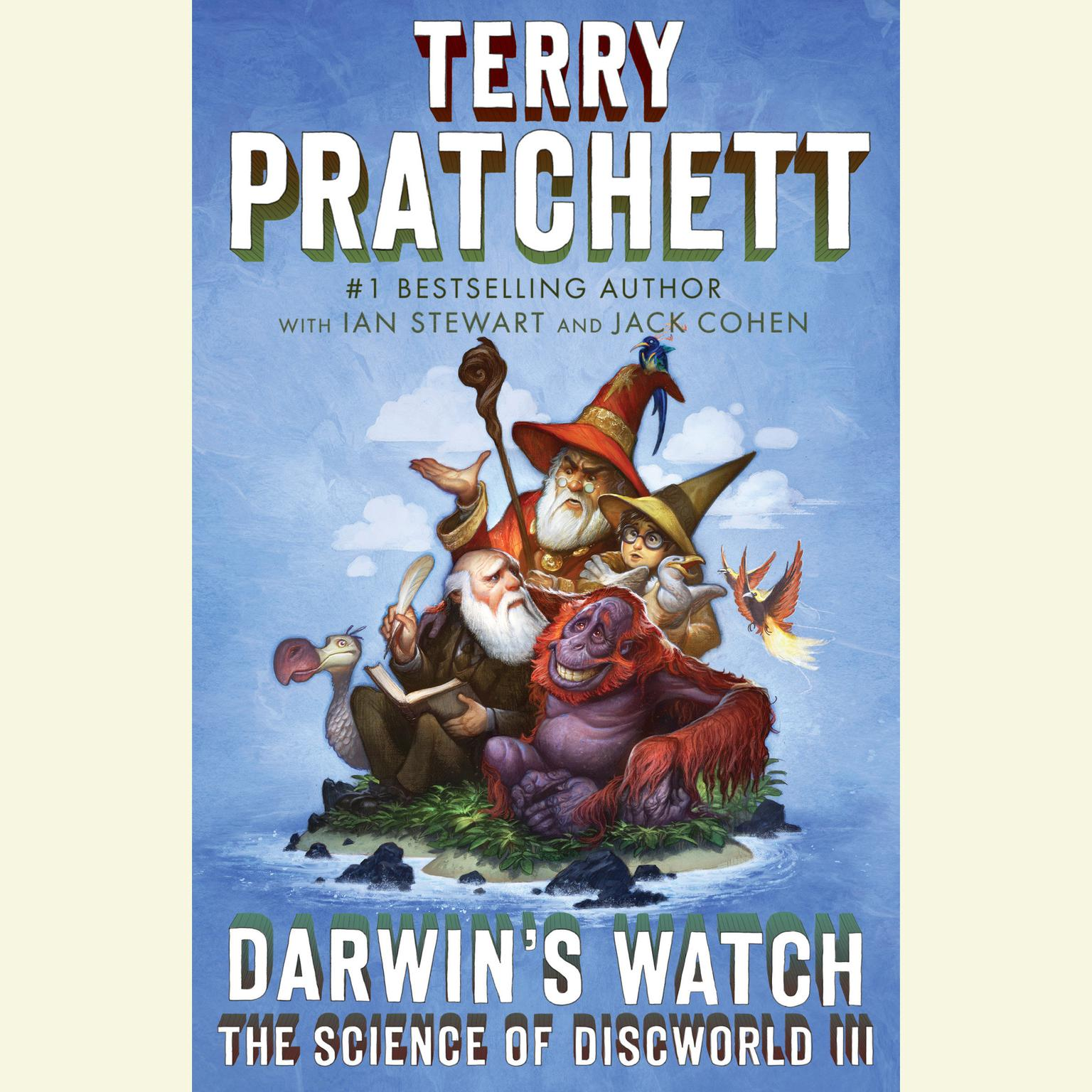 Printable Darwin's Watch: The Science of Discworld III: A Novel Audiobook Cover Art