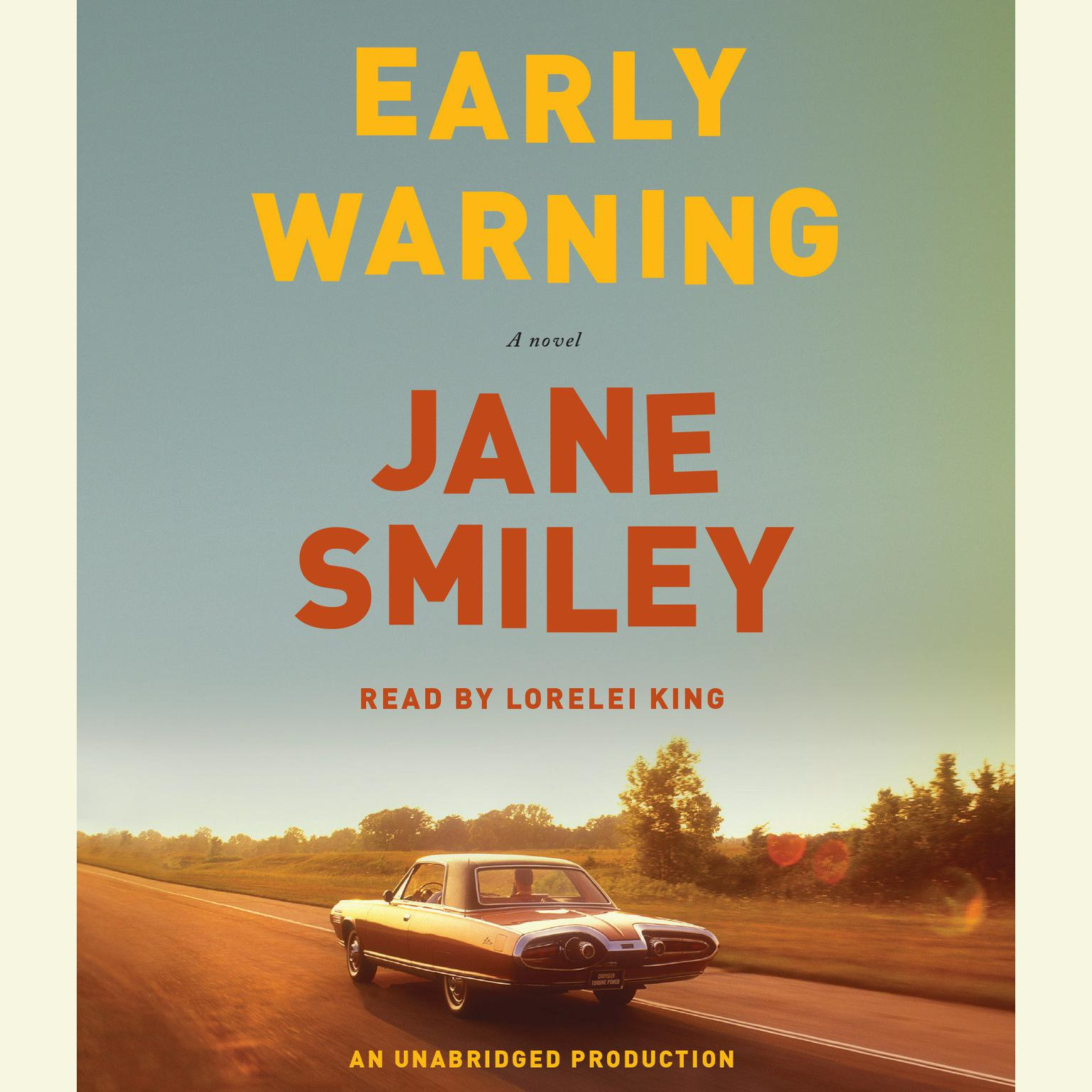 Printable Early Warning: A novel Audiobook Cover Art