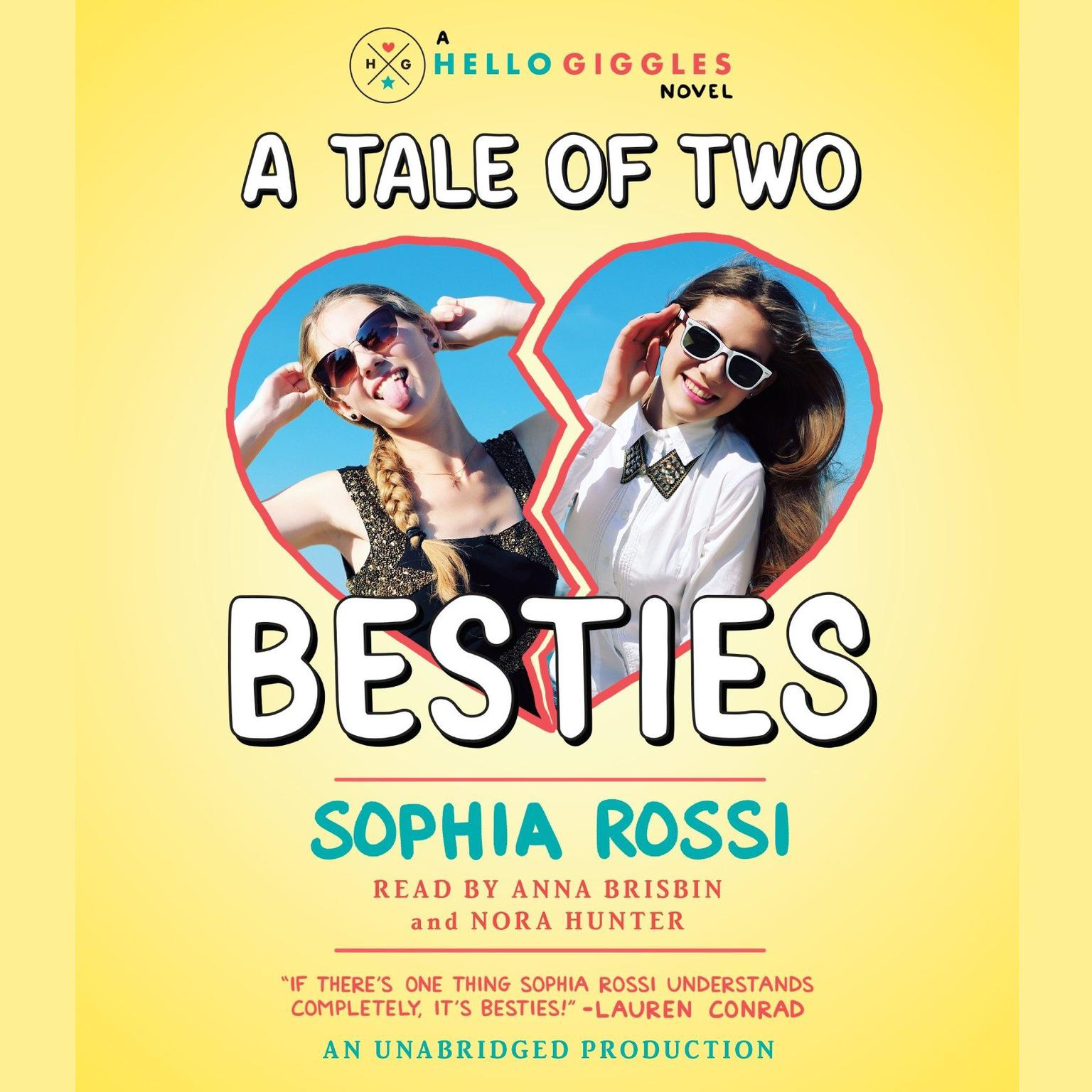 Printable A Tale of Two Besties: A Hello Giggles Novel Audiobook Cover Art
