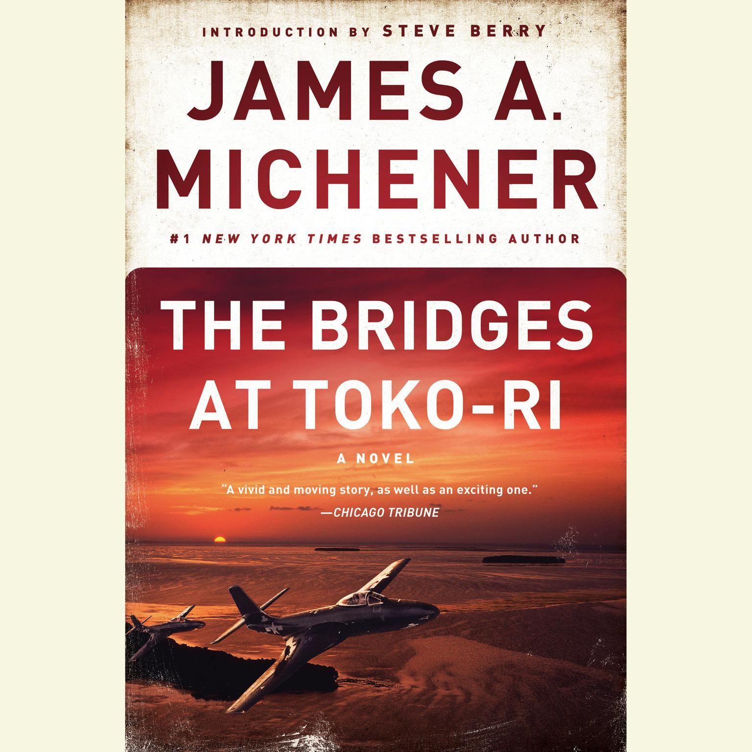 Printable The Bridges at Toko-Ri: A Novel Audiobook Cover Art
