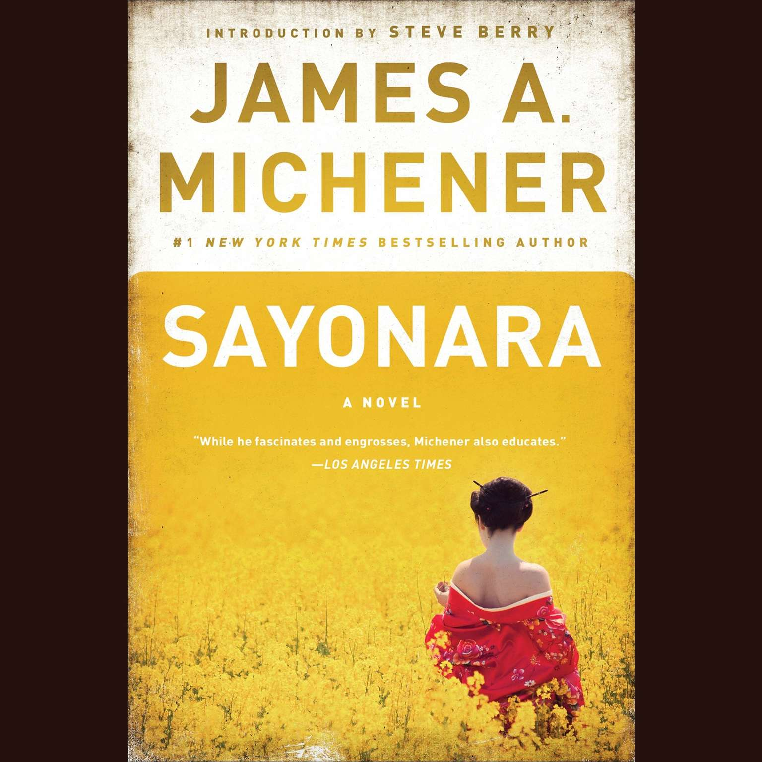 Printable Sayonara: A Novel Audiobook Cover Art
