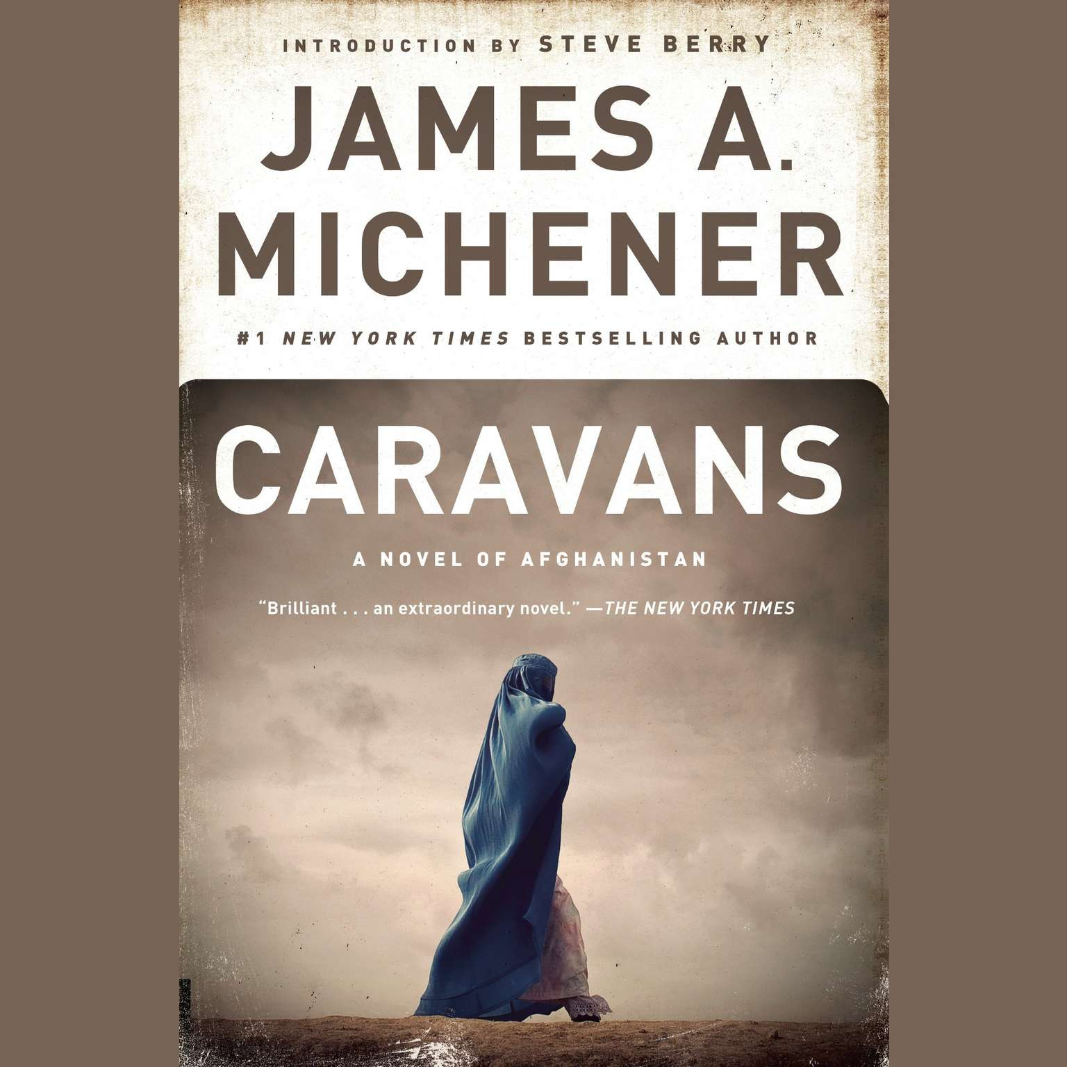 Printable Caravans: A Novel of Afghanistan Audiobook Cover Art