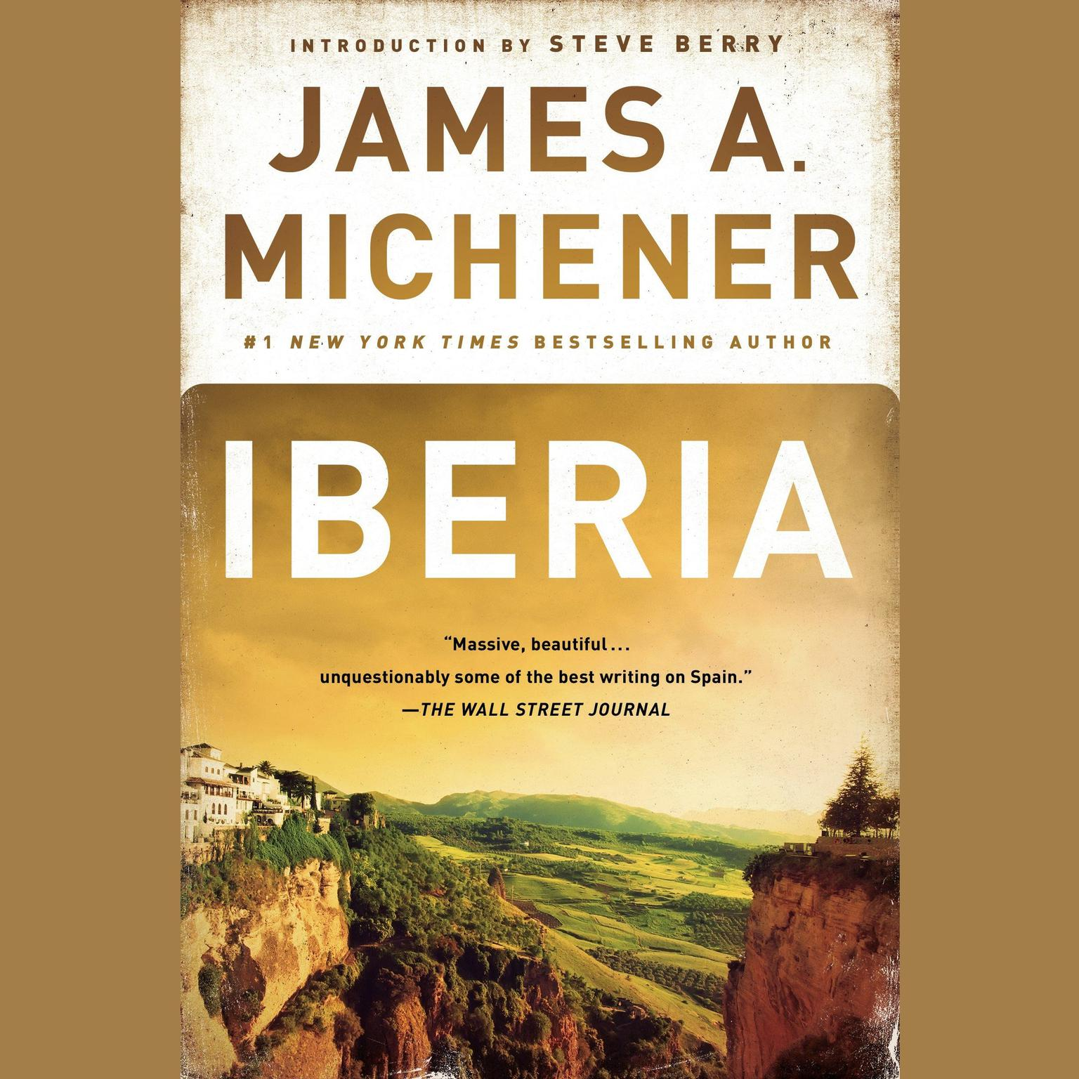 Printable Iberia Audiobook Cover Art