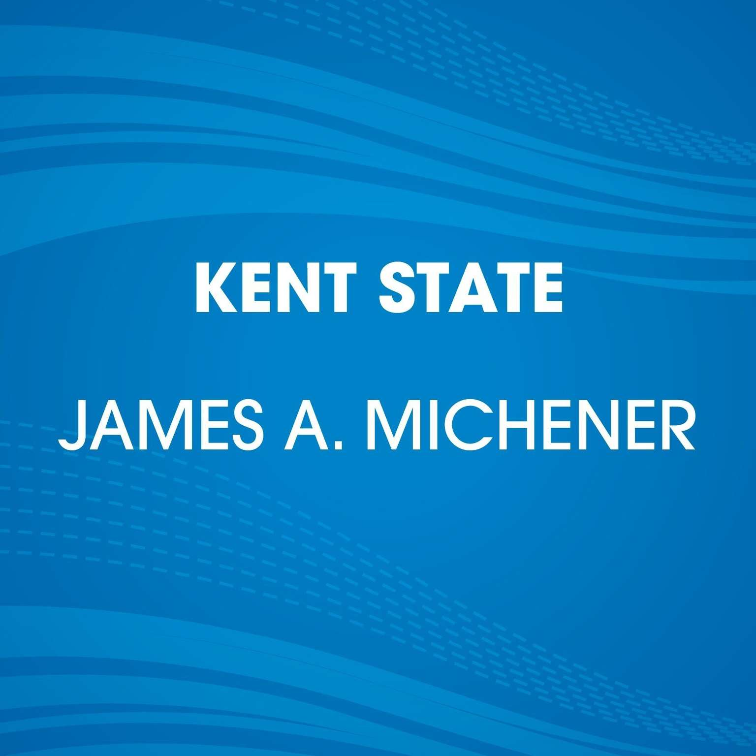 Printable Kent State Audiobook Cover Art