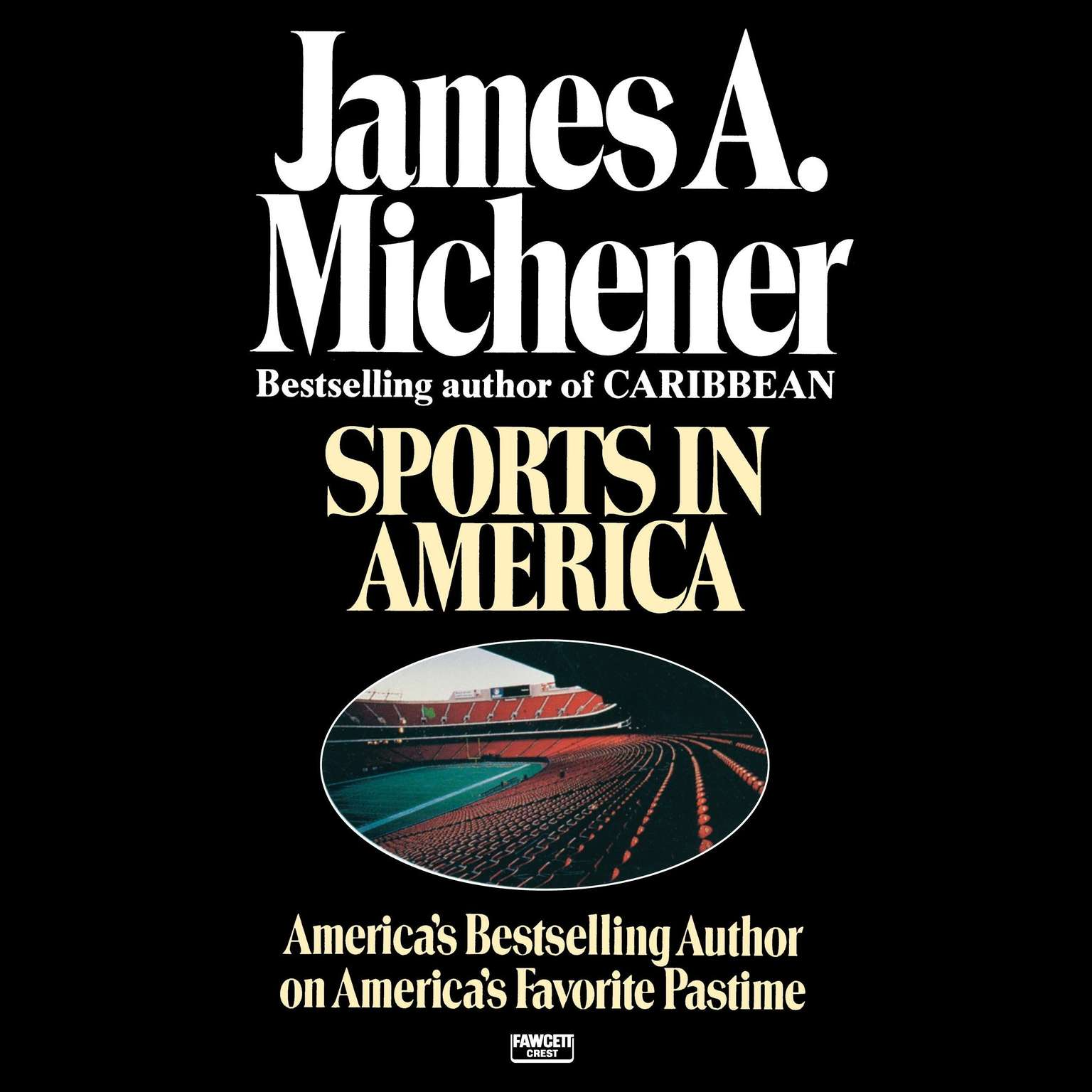 Printable Sports in America Audiobook Cover Art
