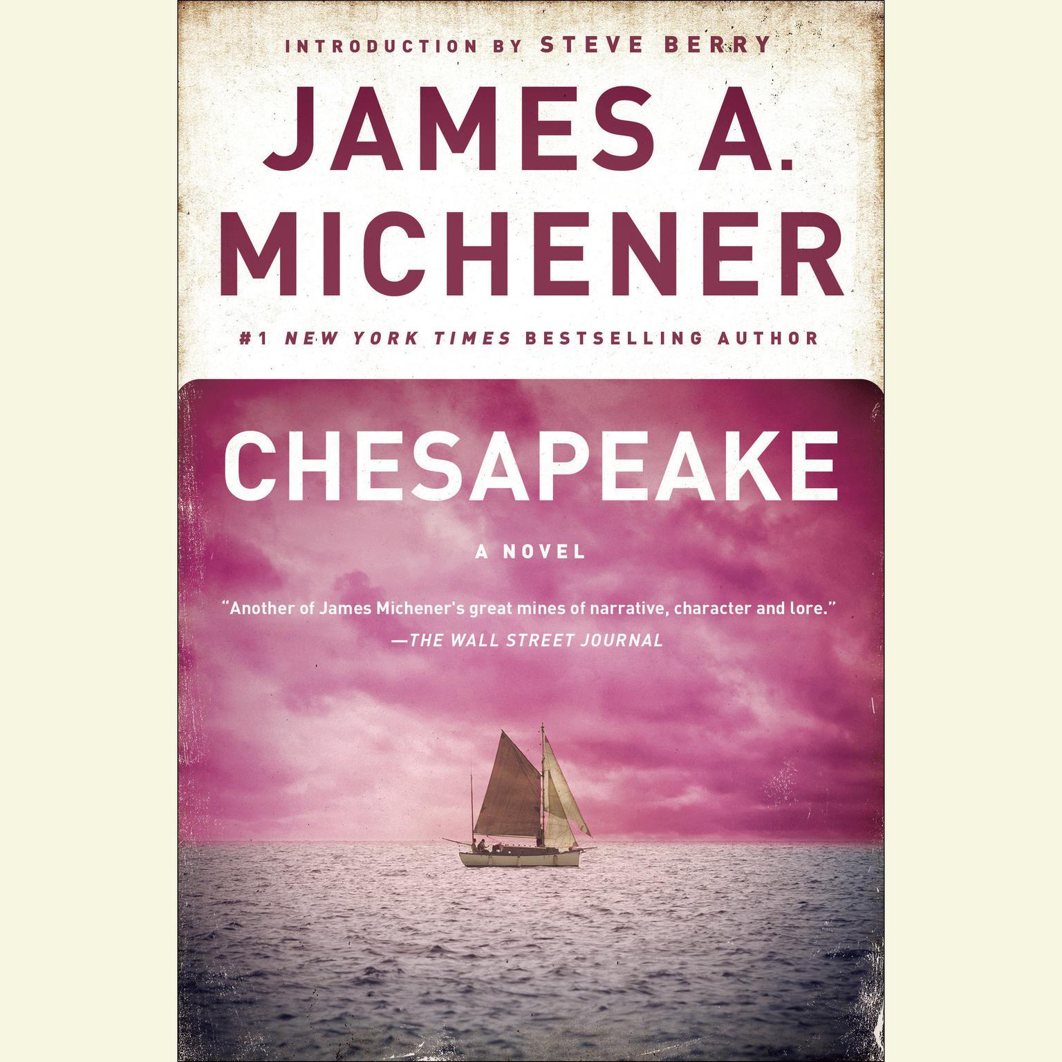 Printable Chesapeake: A Novel Audiobook Cover Art