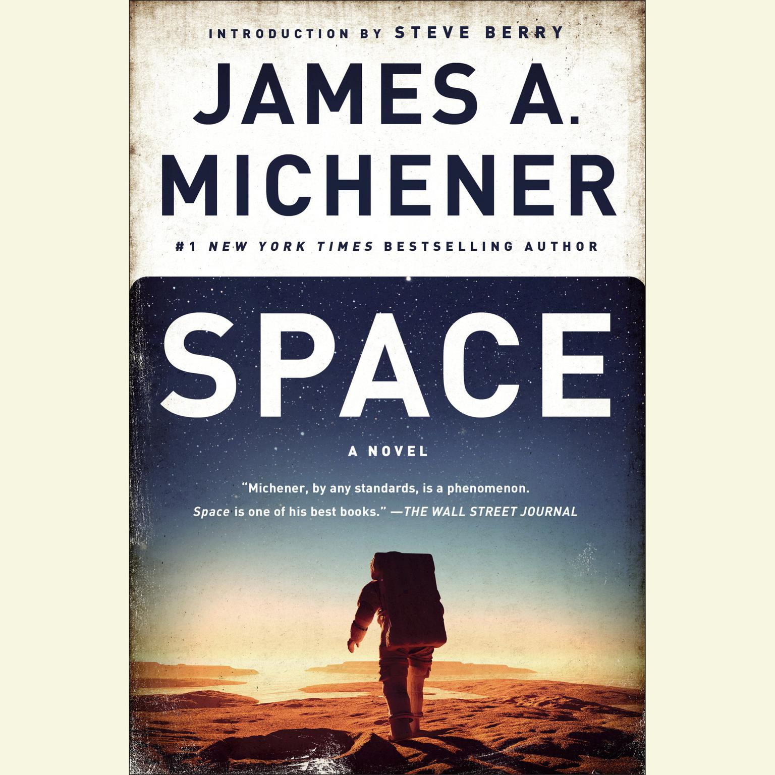 Printable Space: A Novel Audiobook Cover Art