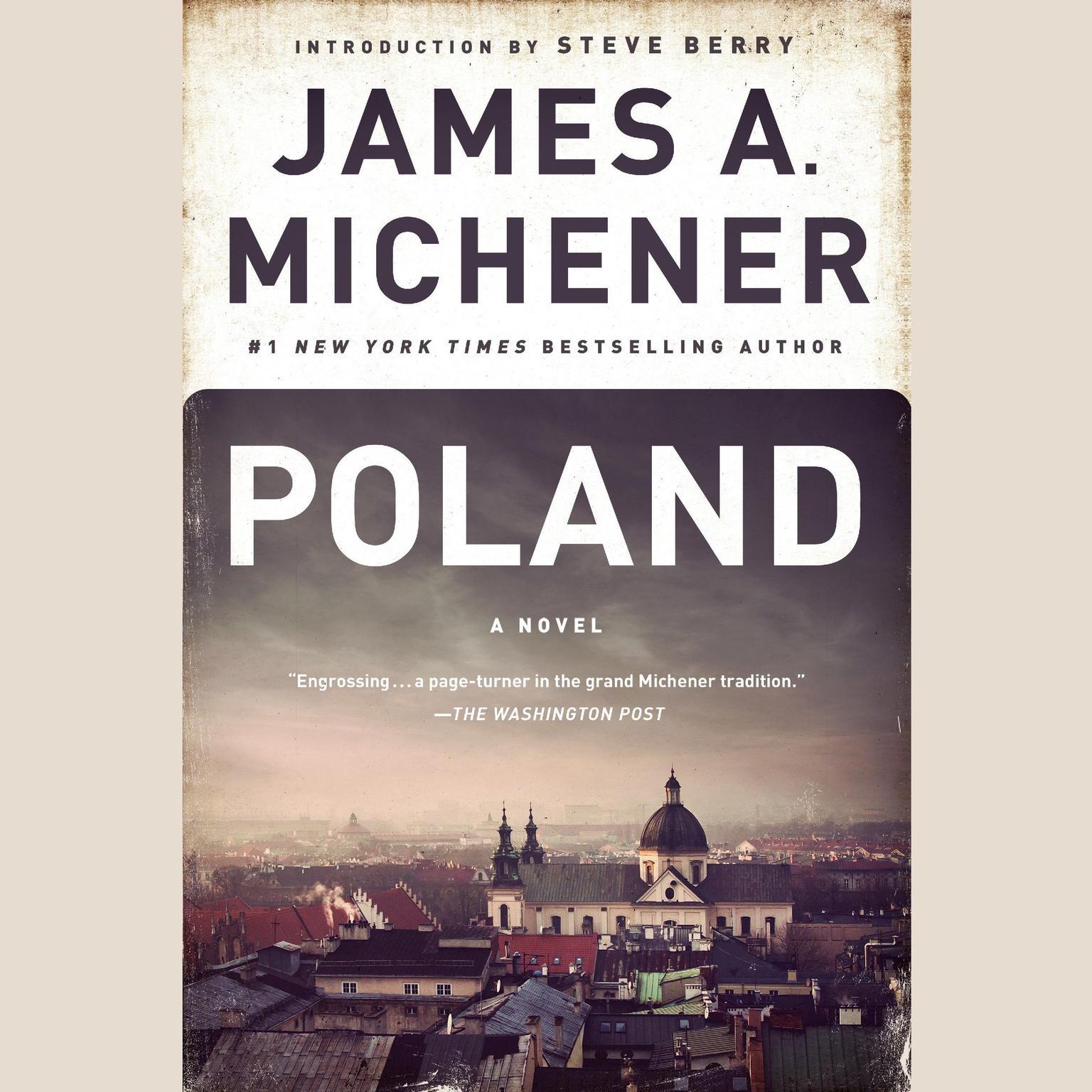 Printable Poland: A Novel Audiobook Cover Art