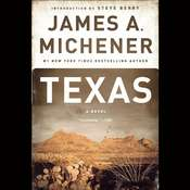 Texas: A Novel Audiobook, by James A. Michener