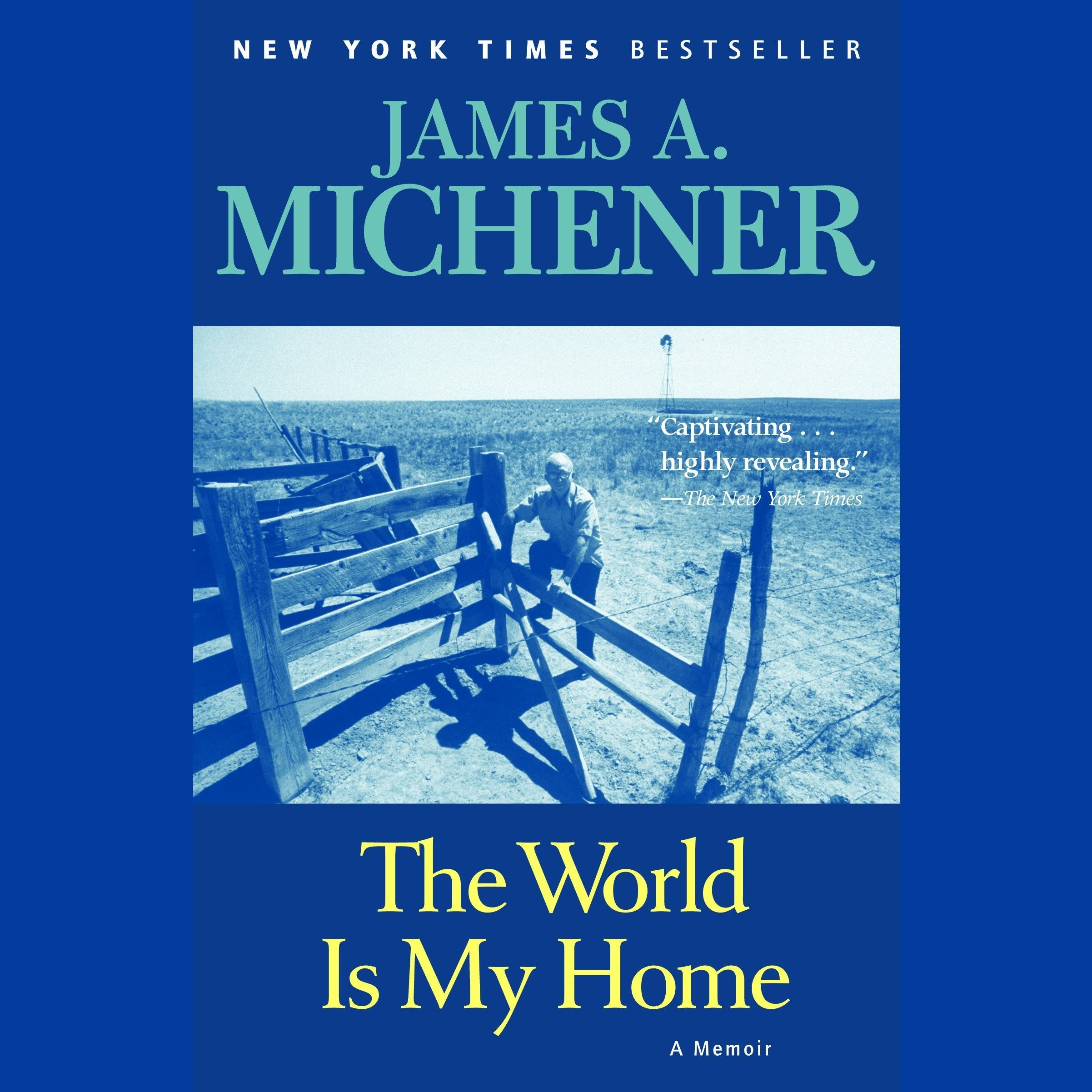 Printable The World is My Home: A Memoir Audiobook Cover Art