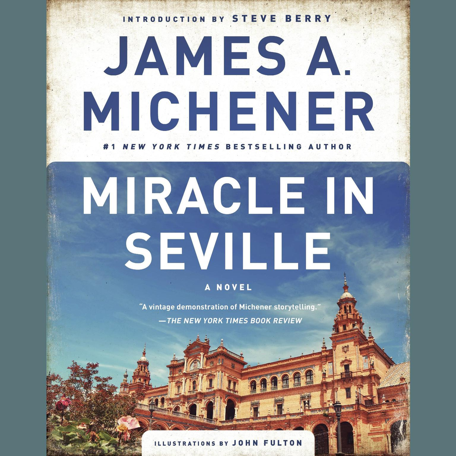 Printable Miracle in Seville: A Novel Audiobook Cover Art