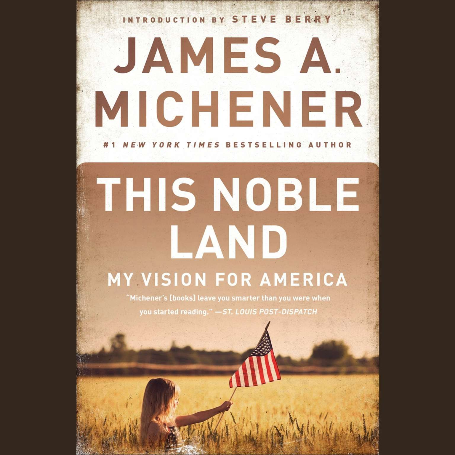 Printable This Noble Land: My Vision For America Audiobook Cover Art