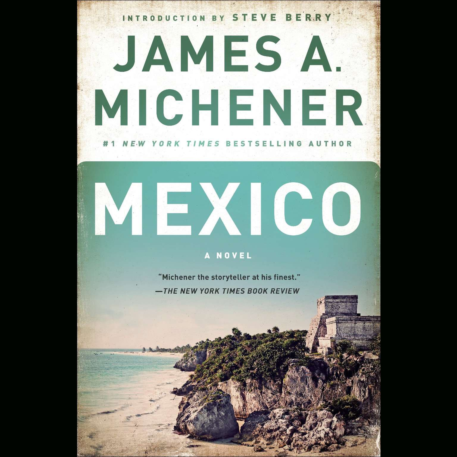 Printable Mexico: A Novel Audiobook Cover Art
