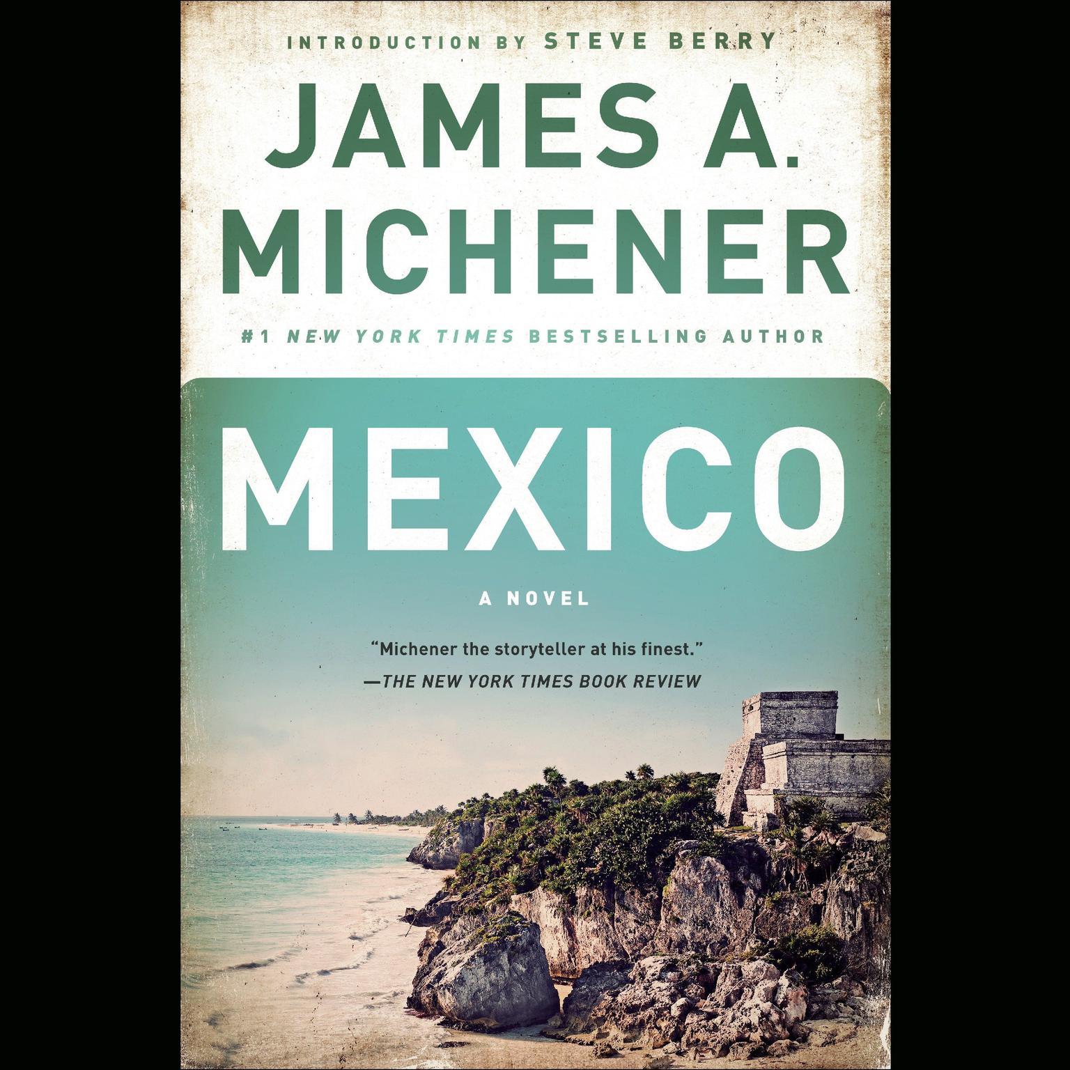 Printable Mexico: A Novel Audiobook Cover Art