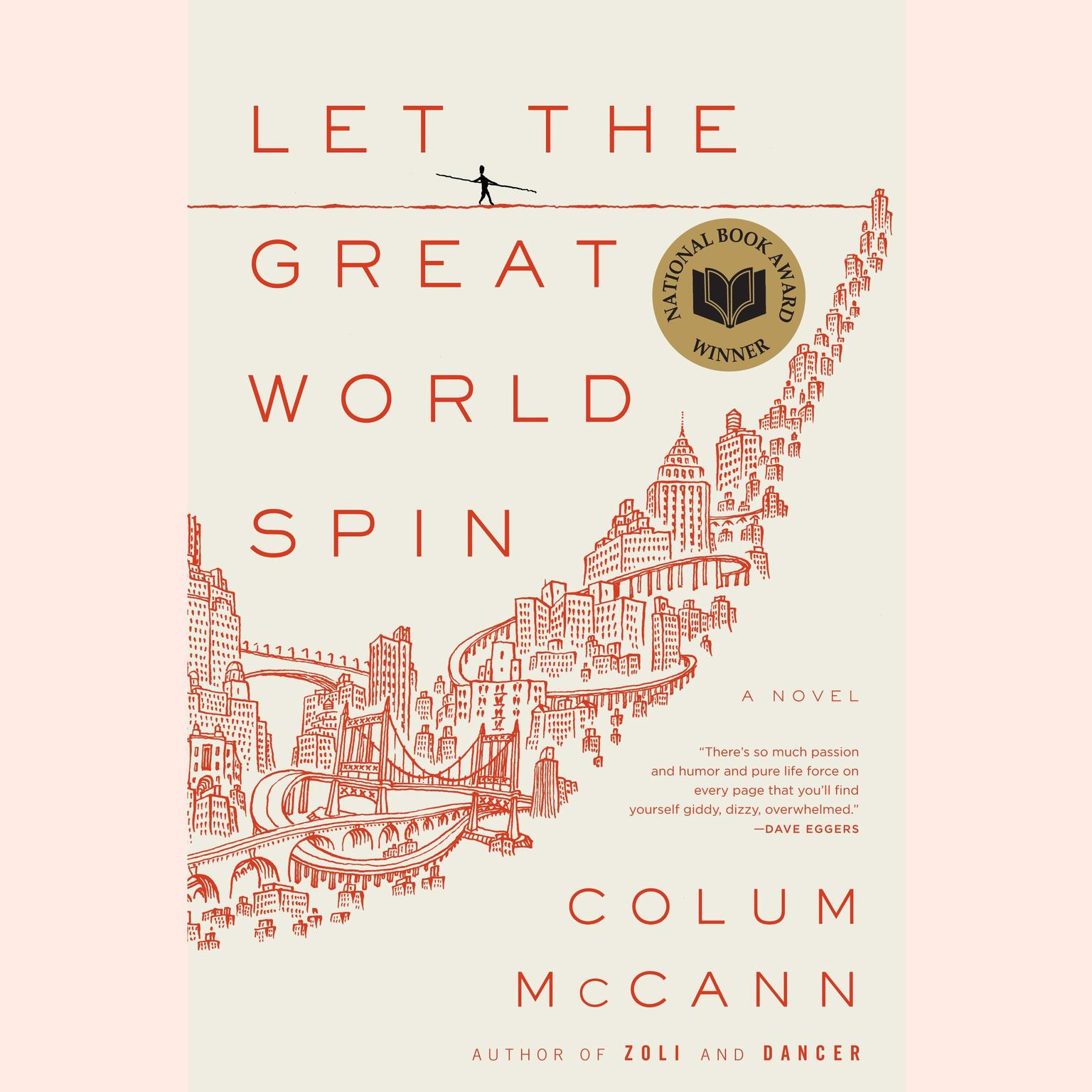 Printable Let the Great World Spin: A Novel Audiobook Cover Art