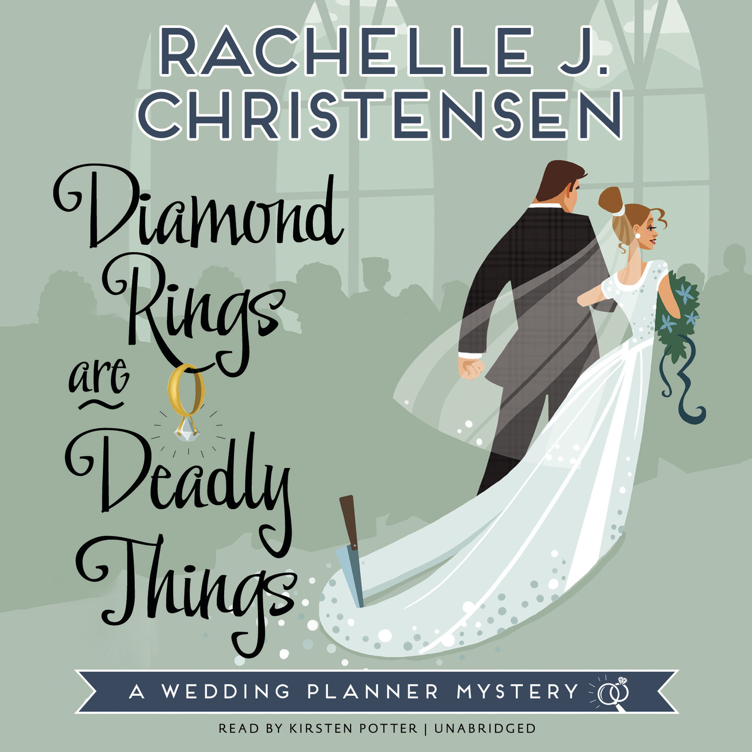 Printable Diamond Rings Are Deadly Things: A Wedding Planner Mystery Audiobook Cover Art