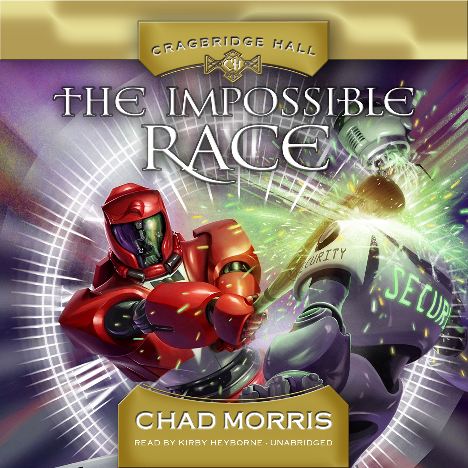 Printable The Impossible Race Audiobook Cover Art