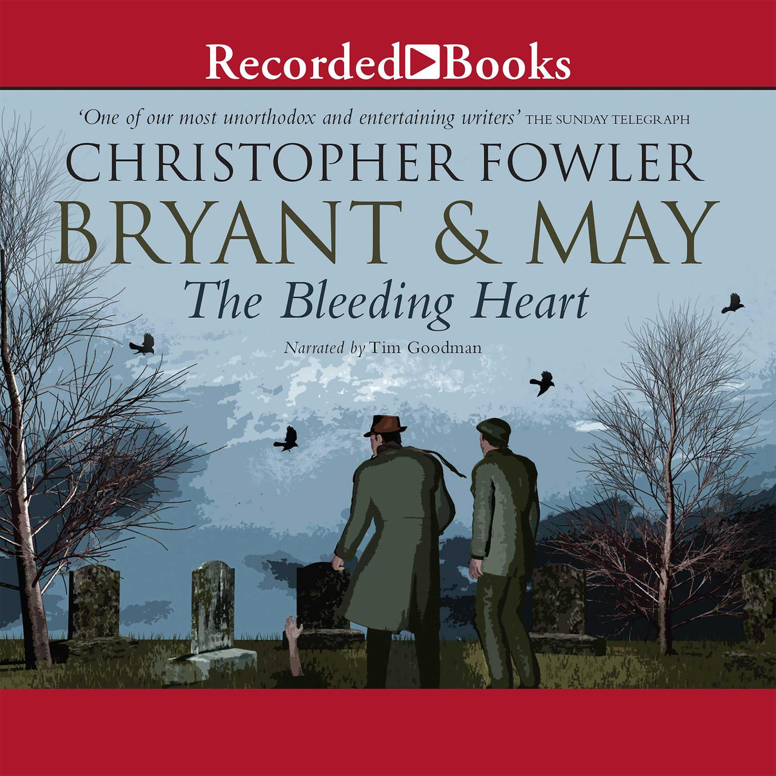 Printable Bryant & May and the Bleeding Heart Audiobook Cover Art
